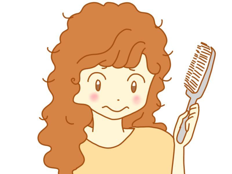 最強アイテム発見!! つけるだけで綺麗なウェーブヘアに【縮毛とともに生きる髪型】
