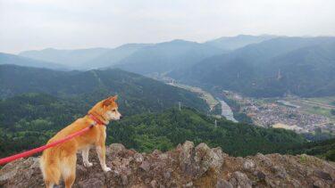 絶景スポット 『獅子ケ鼻岩』を見に『小佐波御前山』に登る